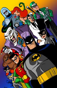 The best animated series ever #batman #animation