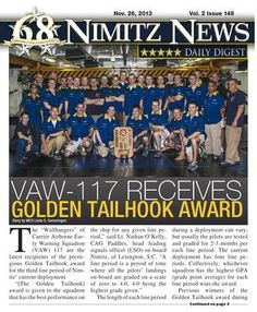 Nimitz News Daily Digest - Nov. 26, 2013