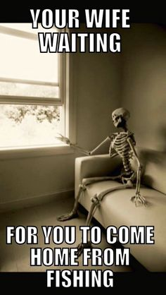 Wife waiting #LOL