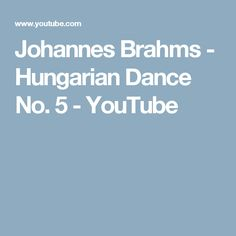 Johannes Brahms Hungarian Dance No. 5 in G minor The German composer, pianist, and conductor Johannes Brahms was one of the most significant comp. D Flat Major, Hungarian Dance, Free Sheet Music, Classical Music, Youtube, Folklore, 3, Piano, Pianos