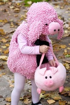 Darling! Perhaps she is one of The Three Little Pigs? @Happiness Walks on Busy Feet