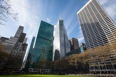 Bryant Park un oasis de tranquilidad en el medio de Manhattan #nuevayork