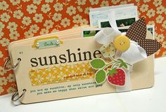 Ice Cream, Sprinklers and Picnics scroll down to find this flashcard mini book by Danielle Flanders