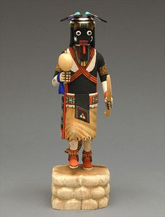Hopi kachinas | kachina doll by donald sockyma hopi kachina dolls contemporary dolls