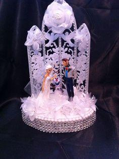 elsa themed wedding cake - Google Search