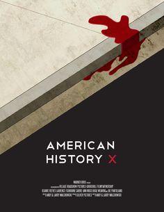 American History X (1998) - Minimal Movie Poster by Zack Suhadolnik