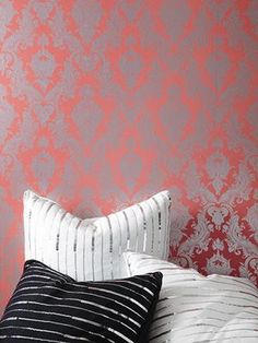 Hey, design-obsessed renters! Removable wallpaper is a thing