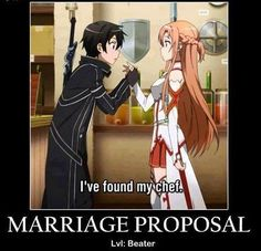 Sword Art Online Motivational Poster Lels- I can't even right now XD