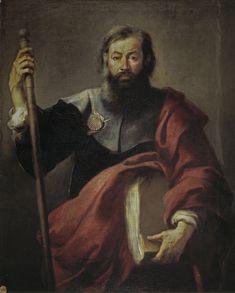 Bartolomè Esteban Murillo, Giacomo il Maggiore, 1650-1655 circa, Madrid, Museo del Prado