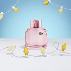 Looking for the perfect gift? Discover Eau de Lacoste L.12.12 Sparkling, part of the new L.12.12 collection for her. #LACOSTEGIFTS