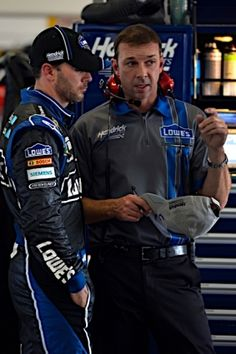 KNAUS' CAREER: Chad Knaus has led the No. 48 team since Johnson's rookie season in the Sprint Cup Series in 2002. In that 12-year span, he has helped Jimmie Johnson achieve six titles and an average finish of 2.4 in the championship standings. The duo never has finished lower than sixth in Cup points.