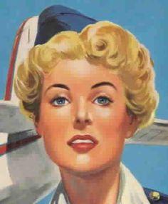 Shirley Flight Air Hostess