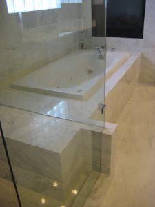 Pro #1958796 | GraniteWorks | Dallas, TX 75247 Master Bath Remodel, Glass Shower, Guest Bath, Kitchen Remodel, Countertops, Dallas, Bathtub, Home, Standing Bath