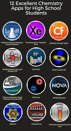 Excellent Chemistry Apps for High School Students Free resource of educationa. Excellent Chemistry Apps for High School Students Free resource of educationa. Chemistry Classroom, High School Chemistry, Chemistry Lessons, Chemistry Notes, Teaching Chemistry, Science Chemistry, High School Science, Science Education, Physical Chemistry