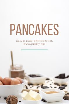 Pancakes 😍 Download and edit your own pins in Over today. #madewithover