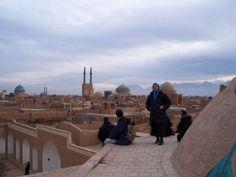 Photo by Yana - Iran, sui tetti a parlare