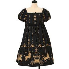 ♡ Innocent World ♡ Crown carousel Dress http://www.wunderwelt.jp/products/detail13226.html ☆ ·.. · ° ☆ How to order ☆ ·.. · ° ☆ http://www.wunderwelt.jp/user_data/shoppingguide-eng ☆ ·.. · ☆ Japanese Vintage Lolita clothing shop Wunderwelt ☆ ·.. · ☆