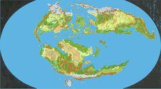 Maps of Mystara Fantasy Map, Fantasy World, World Painter, Alternate History, Dungeons And Dragons, Wilderness, Tabletop, Minecraft, Concept Art
