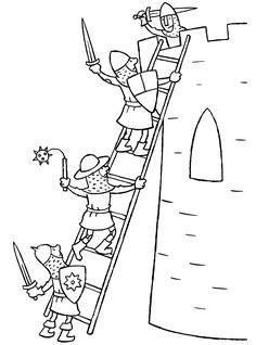 Ridders bestormen de toren