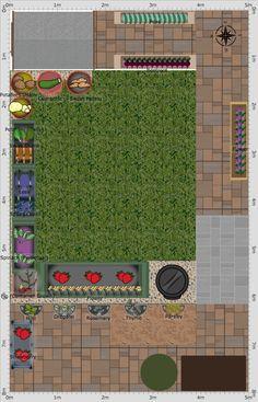 New Garden Ideas 2015 garden plan - 2015: maría innes vertical gardening with the garden