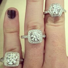 #Ritani #engagementrings on #hydeparkjewelers #instagram