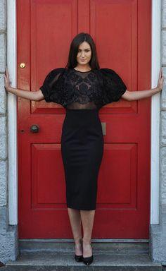 Milan Black Dress - Lady VB