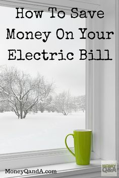There are ways to save on your electric bill and lower your heating costs this winter. These are simple ways to keep the drafts out of your home and your wallet this winter.