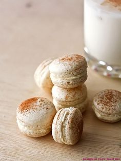 Christmas Macarons 06 by penguin says feed me, via Flickr
