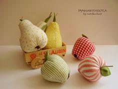 Ручная работа by natulja-best: Кому фруктов? \ Fruits Tilda