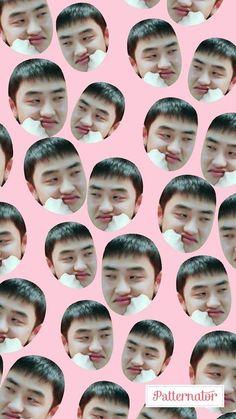 Exo Lockscreen, Chansoo, Exo Do, Do Kyung Soo, Kpop Exo, Pretty Wallpapers, Pink Wallpaper, Kyungsoo, Polaroid