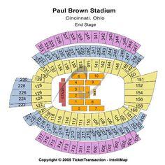Cincinnati Bengals Tickets, Paul Brown Stadium