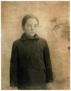 Portrait of Maria, Collection of the artist (Antonio Lopez Garcia) Figure Painting, Figure Drawing, Painting & Drawing, Human Painting, Art Blanc, Garcia Lopez, Spanish Artists, Portraits, Museum Of Fine Arts