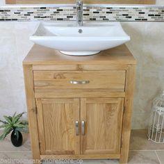 Bathroom-Vanity-Unit-Oak-Cabinet-Furniture-Wash-Stand-Ceramic-Basin-Set-50216