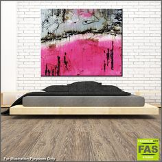 "Abstract paintings, Abstract Realism and Urban pop art ""in situ"" displayed in spaces. Please feel free to visit my website, where you can purchase my current stock, or message me to discuss a commission (or say hello!)...... I love what I do, so please enjoy! Happy Trails Franko.......... Pink Purple Fuscia abstract paintings"