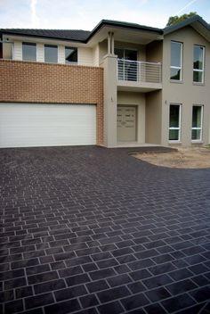 driveway Exterior House Colors, Garage Doors, Colours, Outdoor Decor, Home Decor, Decoration Home, Exterior House Colours, Room Decor, Carriage Doors