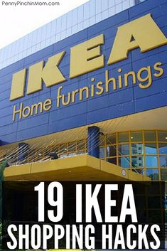 The best Ikea Shopping hacks you NEED to know about.  Trust me - these hacks will save you money at Ikea. via @PennyPinchinMom
