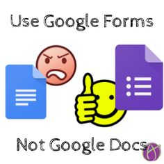 Use Google Forms, Not Google Docs – 5 TIPS that will do the grading for you.