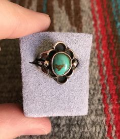 A personal favorite from my Etsy shop https://www.etsy.com/listing/601836527/vintage-native-american-turquoise