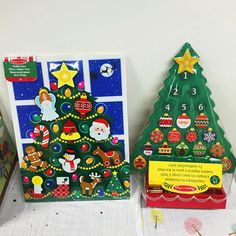 Get ready for Christmas with the Melissa & Doug Countdown to Christmas Wooden Advent Calendar and 13 Piece Wooden Christmas Tree! Only 44 more sleeps! Available at www.littlepumpkin.co.uk
