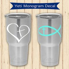 You Can Personalize And Customize Your Cup With This Easytoapply - Custom vinyl stickers for cups