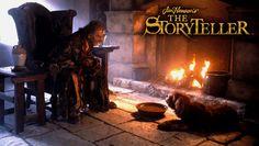 Jim Henson's The Storyteller. El cuentacuentos. Serie de televisión producida por Jim Henson. John Hurt y su perro :)