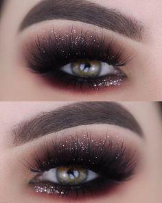 Trendy eye makeup tutorial silver make up 31 Ideas Makeup Eye Looks, Eye Makeup Art, Cute Makeup, Gorgeous Makeup, Makeup Inspo, Makeup Inspiration, Makeup Ideas, Beauty Makeup, Simple Makeup