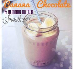 Not my recipe Blend Handful of ice 2c of water  1/2 banana 1 tbsp maple almond butter 1 scoop chocolate protein powder  2-3 tbsp of Greek yogurt