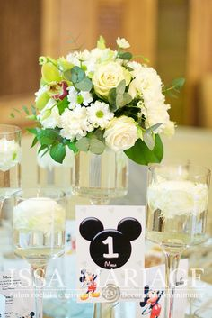Mickey Mouse, Table Decorations, Flowers, Furniture, Home Decor, Living Room, Decoration Home, Room Decor, Michey Mouse