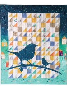 Applique Bird Quilt Digital Pattern | Interweave Store | InterweaveStore.com