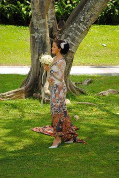 Traditional wedding dress, Bali, Indonesia