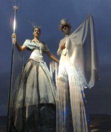 Edinburgh Performers - Stiltwalkers - Scotland