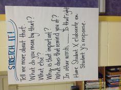 Elaborate response In Other Words, Writing Strategies, Language Arts, No Response, Student, Teaching, School, Education, Language