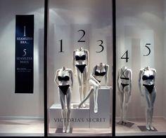 instore | Victoria Secret Lingerie Store Design, Victoria Secret Shops, Store Front Windows, Fashion Displays, Creative Architecture, Point Of Purchase, Allura, Visual Display, Shop Window Displays