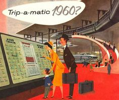A View of the Future, From 1960. #20thCmod